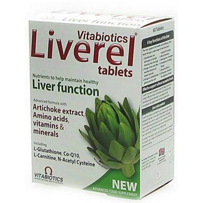 Vitabiotics Liverel Liver Health 60 Tablets