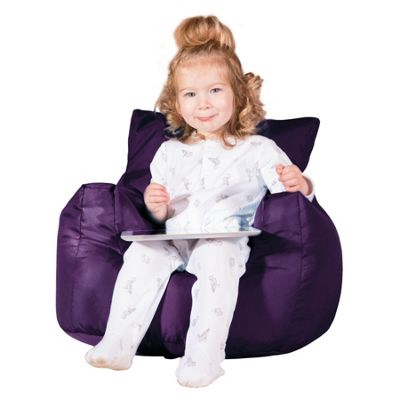 Big Bertha Original™ Childrens Armchair Bean Bag - Purple