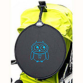 My Buggy Buddy Blue Owl Sun Shade Clip on