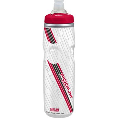 Camelbak Podium Big Chill Bottle Clear Red, 750ml