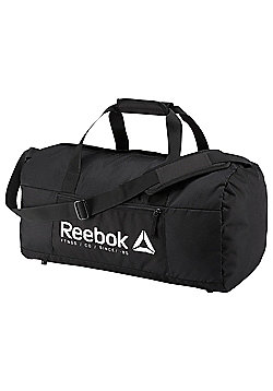 Reebok Foundation Grip Medium Holdall Duffel Bag - Black