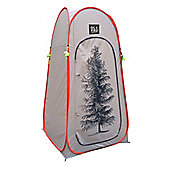 OLPRO POP UP TOILET TENT - TREE DESIGN (ORANGE)