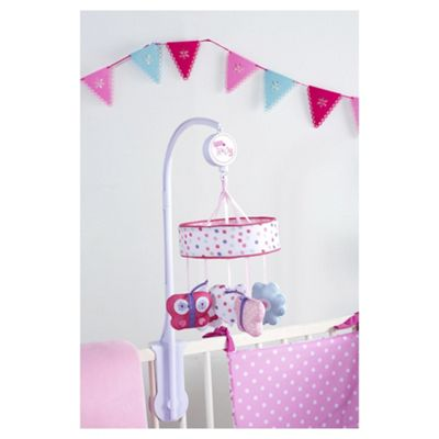 Red Kite Musical Baby Cot Mobile, Pretty Kitty