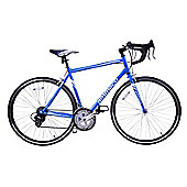 Ammaco Velocity Adults 14 Speed 700C Road Bike 43cm Frame Blue