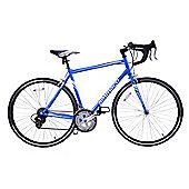 Ammaco Velocity Adults 14 Speed 700C Road Bike 43cm Frame Blue