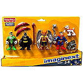 Fisher-price Imaginext Dc Super Friends Set Heroes