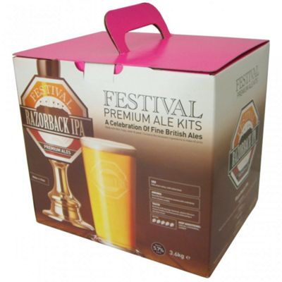 Festival 40 Pint Beer Kit - Razorback - India Pale Ale (IPA)