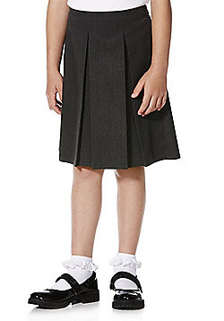 F&F School Girls €˜You Buy One, We Donate One' Pleated Skirt - Grey
