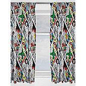 Marvel Comics Retro Curtains - Multi