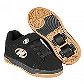 Heelys Dual Up Black/Gum Kids Heely X2 Shoe UK 2