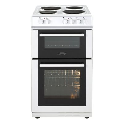 Belling FS50ETWHI, 50cm, White, Electric, Single Oven