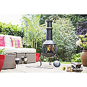 Leon Large Steel Chimenea