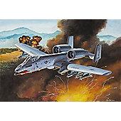 A-10 Thunderbolt II 1:100 Scale Model Kit - Hobbies
