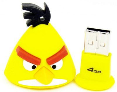 Angry Birds Yellow Bird 4GB USB Flash Drive - Components