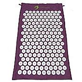 The Purple Shakti Yantra Mat- Spiked Yoga Massage Mat