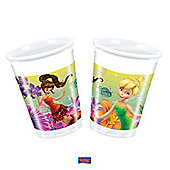 Tinkerbell Magic Fairies Party Plastic Cups (8 pack)
