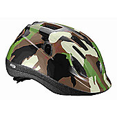 BBB BHE-37 - Buddy Kids Helmet (Camouflage, 51-55cm)