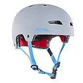 REKD Elite Helmet - Grey/Blue - Medium (56-57cm)