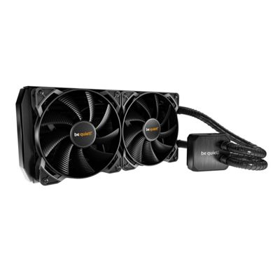 Be quiet! 240mm Silent Loop All In One Hydro Cooler with Dual fans