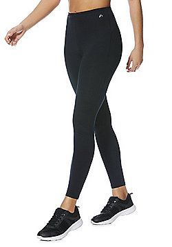 F&F Active Quick Dry Full Length Leggings - Black