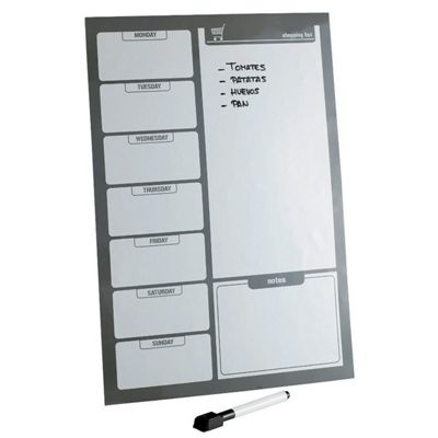 A3 Size Magnetic Fridge Board Weekly Planner