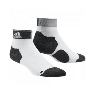 adidas Unisex Run Energy Thin Cushioned Ankle Socks - 2.5-4