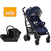 Joie Brisk LX Travel System - Midnight Navy