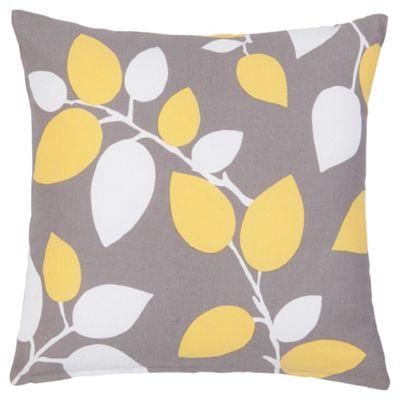 F&F Home Modern Country Leaf Cushion