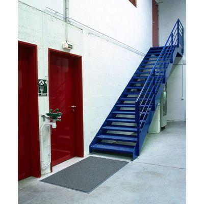 Floortex Doortex Twistermat Indoor / Outdoor Entrance Mat with Anti-slip Vinyl Backing - 90cm x 150cm