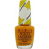 OPI Color Paints Collection Nail Polish 15ml - Primarily Yellow