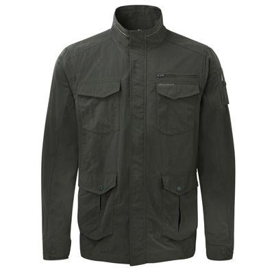Craghoppers Mens NosiLife Adventure Jacket Dark Khaki 2XL