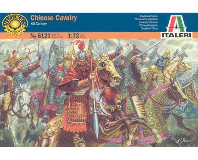 Chinese Cavalry XIII Century - 1:72 Scale - 6123 - Italeri