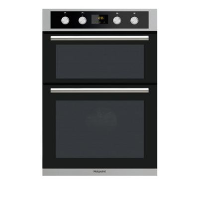 Hotpoint Class 2 Electric Built In Double Oven DD2 844 C IX - Stainless Steel