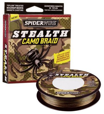 Spiderwire Stealth Camo Braid - 300 Yards