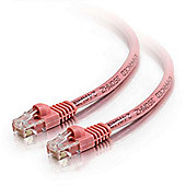 Cables to Go Cat5e Snagless Patch Cable Pink 0.5m