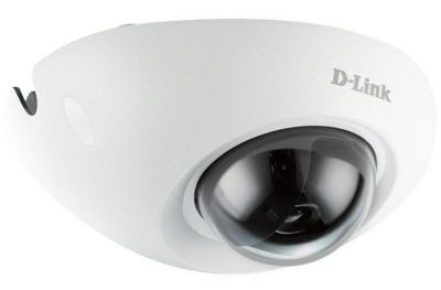 D-Link DCS 6210 Outdoor Full HD Vandal-Resistant Mini Fixed Dome Network Camera