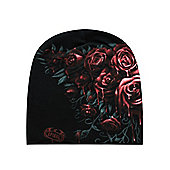 Spiral Blood Rose Beanie - Multi