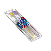 Kent Refresh Medium Nylon Toothbrushes (2 pieces)