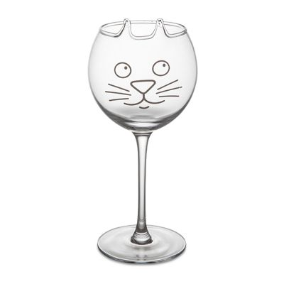 The Purrfect Wine Glass