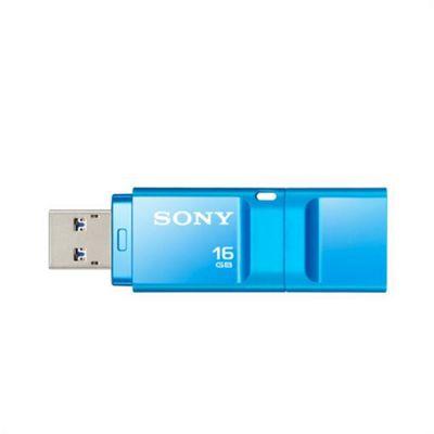 Sony USM-16X USB flash drive 16GB MicroVault X-series 3.0 Blue