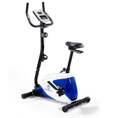 Marcy Azure BK1016 Upright Exercise Bike with Phone Tablet Stand