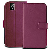 Orzly Multifunctional Wallet Case for the Sony Xperia Z2 - Purple