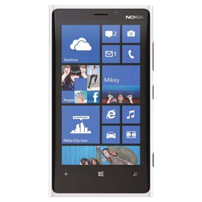 Unlocked Nokia Lumia 920 White -SIM Free