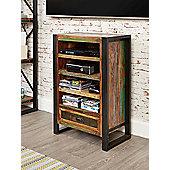 Baumhaus IRF09A Urban Chic Hi-Fi Entertainment Cabinet