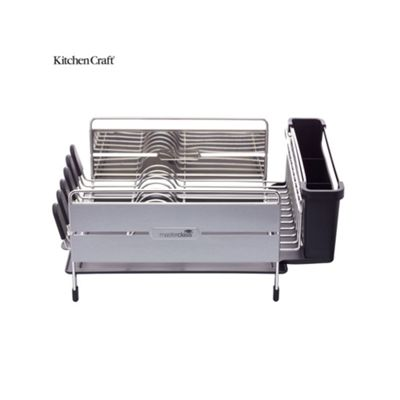 Masterclass Deluxe Stainless Steel Dish Drainer MCDISHDLX