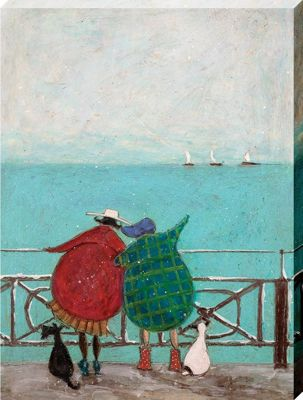 Sam Toft We Saw Three Ships Come Sailing By Canvas Print