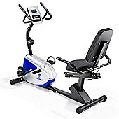 Marcy Azure RB1016 Recumbent Exercise Bike with Phone Tablet Stand