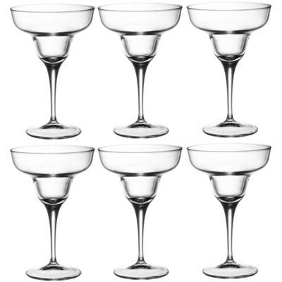 Bormioli Rocco Ypsilon Margarita Cocktail Drinking Glasses - 330ml x6