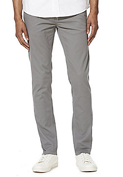 F&F Stretch Skinny Chinos - Silver Grey