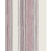 Superfresco Easy Twine Paste The Wall Purple/Pink Stripe Wallpaper